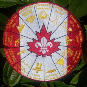 Canada 150 Celebration Crest
