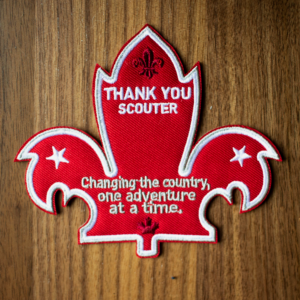 Canadian Scouter Thank You